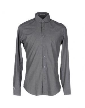Pубашка VANGHER N.7. Цвет: серый