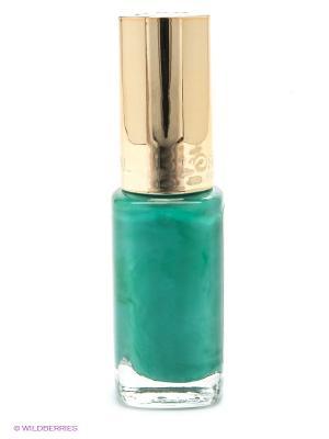 Лак для ногтей Color Riche, оттенок 849, Королевский изумруд, 5 мл L'Oreal Paris. Цвет: зеленый