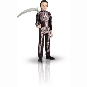 Маскарадный костюм скелет LA REDOUTE. Цвет: набивной рисунок