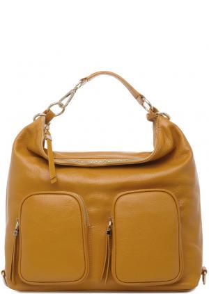 Сумка-рюкзак Carla C. Цвет: коричневый