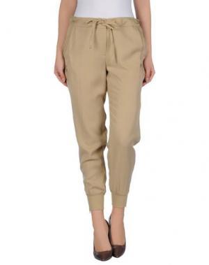 Повседневные брюки DIVINA. Цвет: хаки