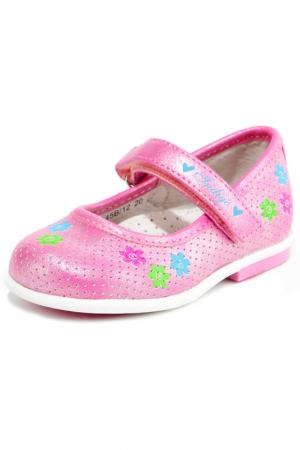 Туфли INDIGO KIDS. Цвет: розовый