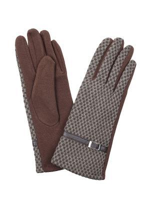 Перчатки Migura. Цвет: коричневый, хаки