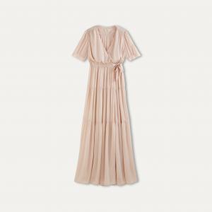 Платье URIEL BA&SH. Цвет: телесный