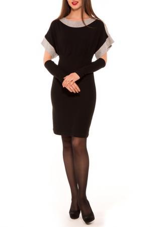 Платье Majaly. Цвет: черный, серый