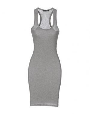 Короткое платье .TESSA. Цвет: серый