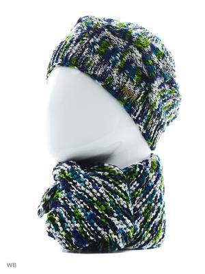 Комплект ЮЛИЯ ТТ. Цвет: синий, белый, зеленый