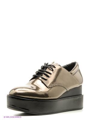 Ботинки ASH. Цвет: бронзовый