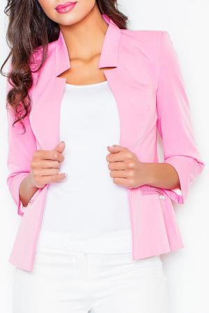 Жакет Figl. Цвет: розовый