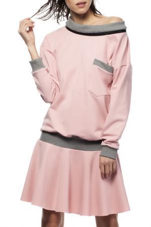 Платье BE WEAR. Цвет: розовый