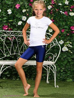 Шорты Arina Ballerina. Цвет: синий
