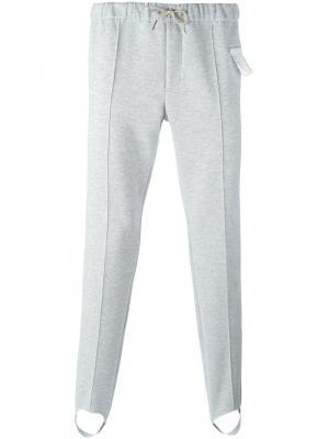 Спортивные брюкиStirrup Satisfy. Цвет: серый