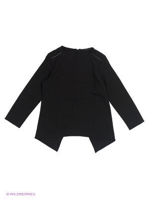 Блузка Sisley Young. Цвет: черный