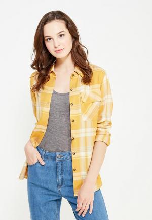Рубашка Cocos. Цвет: желтый