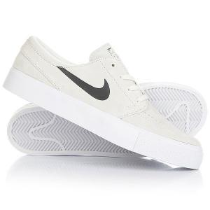 Кеды кроссовки низкие  Sb Zoom Janoski Ht Summit White Nike. Цвет: белый