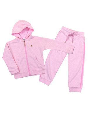 Трикотажный костюм babyAngel. Цвет: розовый