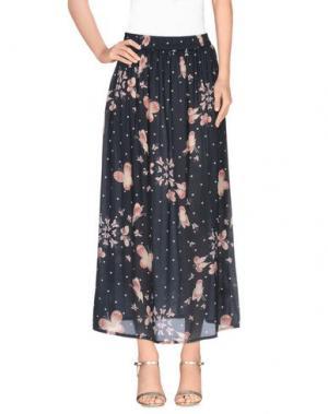 Длинная юбка LOCAL APPAREL. Цвет: стальной серый