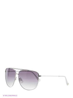 Солнцезащитные очки Mario Rossi. Цвет: белый