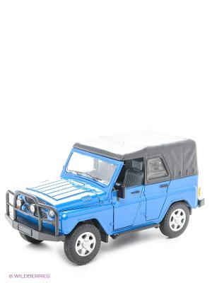 Машинка УАЗ АВТОПАНОРАМА. Цвет: синий