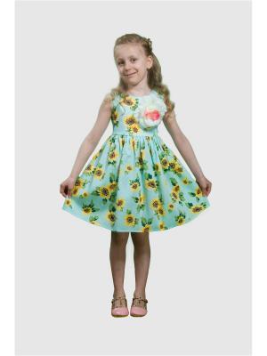 Платье Подсолнухи L&K