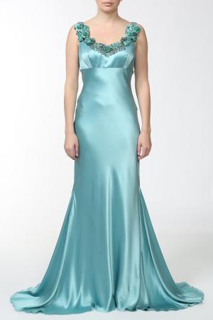 Платье Dina Bar-El. Цвет: голубой