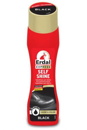 Блеск для обуви, 75 гр Herdal. Цвет: черный