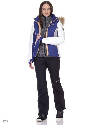 Куртка сноубордическая Volkl. Цвет: темно-синий, белый, серый