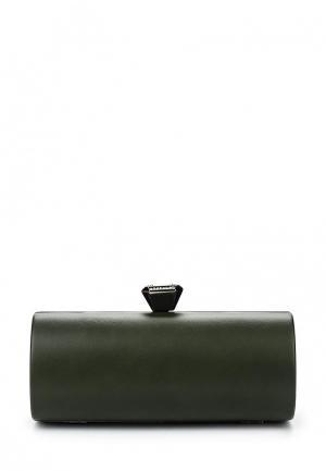 Клатч Dudlin. Цвет: зеленый