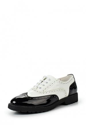 Ботинки Keddo. Цвет: черно-белый