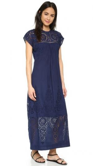 Платье Twilight Burning Torch. Цвет: голубой