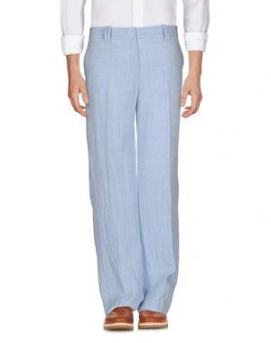 Повседневные брюки METRADAMO. Цвет: небесно-голубой