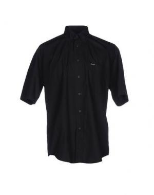 Pубашка FAÇONNABLE. Цвет: черный