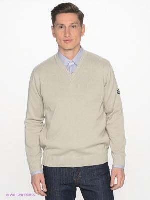 Пуловер Navigare. Цвет: светло-бежевый