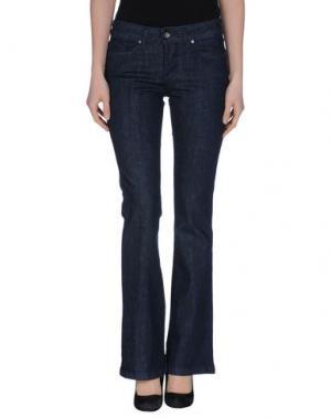 Джинсовые брюки AKÈ. Цвет: синий