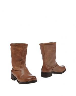 Полусапоги и высокие ботинки KEYS. Цвет: верблюжий