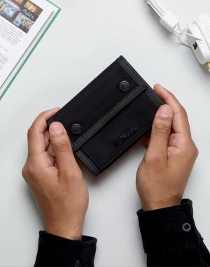Dr Martens Черный кошелек в стиле милитари. Цвет: черный