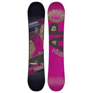Сноуборд женский  Hype Rocker 151 Black/Pink Apo. Цвет: розовый,черный