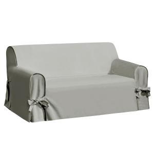 Чехол для дивана La Redoute Interieurs. Цвет: антрацит,белый,серо-бежевый,серо-коричневый каштан,серый,экрю