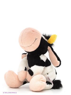 Мягкая игрушка Коровка NICI. Цвет: белый, черный