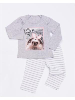 Пижама Mark Formelle. Цвет: серый меланж
