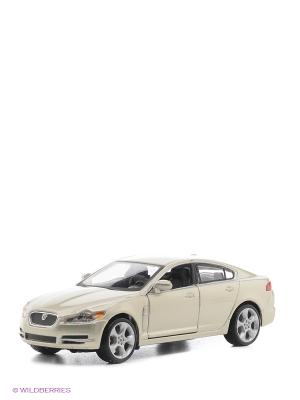1:32 BB Машина Jaguar XF металл. Bburago. Цвет: серо-голубой