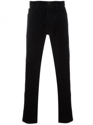 Вельветовые брюки Pant Confort Bleu De Paname. Цвет: синий