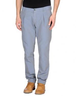 Повседневные брюки ONE SEVEN TWO. Цвет: сиреневый