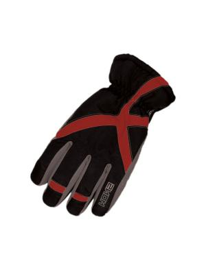 Перчатки HERMAN. Цвет: черный