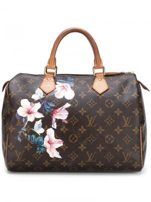 Сумка-тоут Speedy 30 Louis Vuitton Vintage. Цвет: коричневый