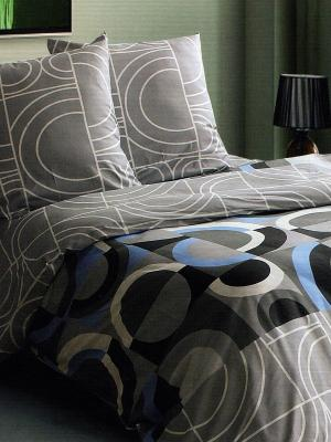 Комплект постельного белья Магия Ночи. Цвет: серый