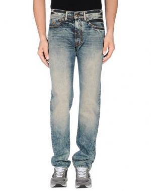 Джинсовые брюки MARLBORO CLASSICS. Цвет: синий