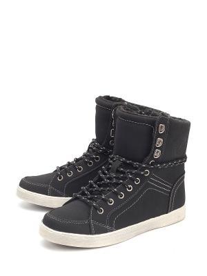 Ботинки Skills. Цвет: черный