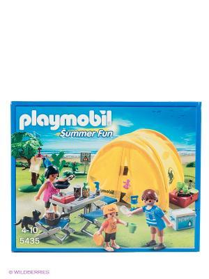 Игровой набор Playmobil. Цвет: желтый, синий, оранжевый