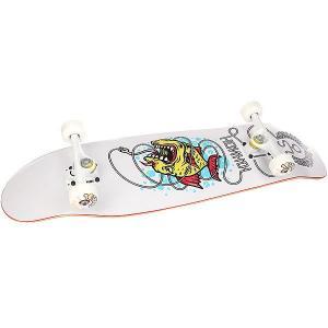 Скейт круизер  Fish White/Multi 9 x 33 (83.8 см) Юнион. Цвет: белый,мультиколор